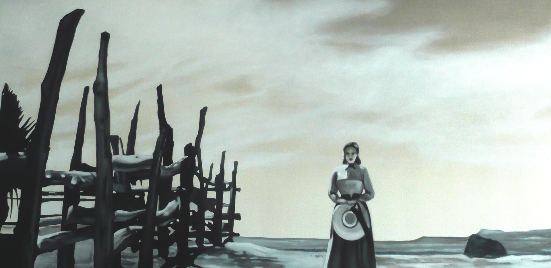 My darling Clementine, John Ford. . scène finale