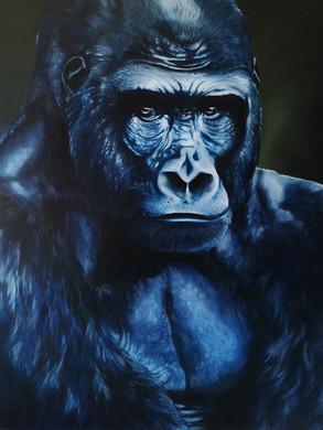 King kong .Gorille . 160 x 130 cm.jpg