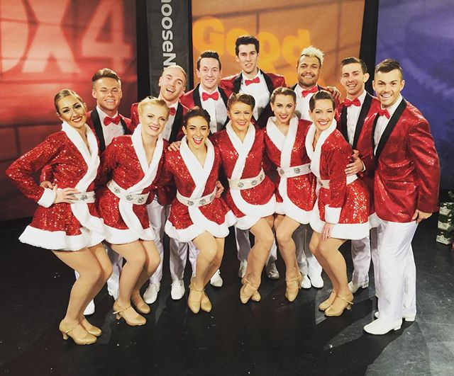Another promo for the books! Thanks Dallas Fox 4 News for having us _) #fox4 #BwayChristmasDSM