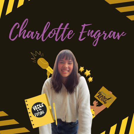 Charlotte Engrav: Radio Production, Journalism Advice, & a Youth Zine