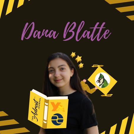 Dana Blatte: Pulitzer Center Contest Poet, Polyphony Lit Executive Editor, & Writer's Block