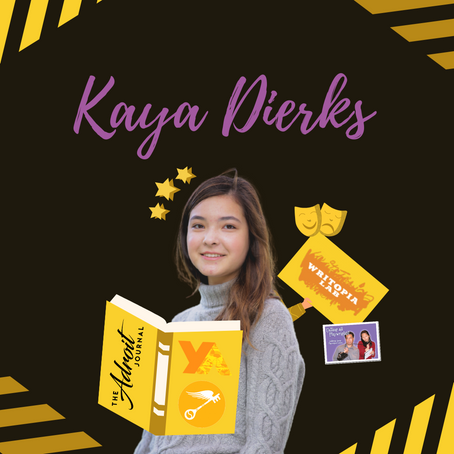Kaya Dierks: YoungArts Playwright & Writer, Dialogue Advice, & Celebrating Your Voice