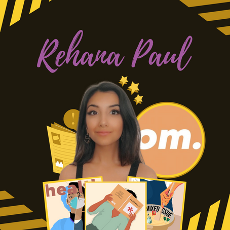 Overachiever Magazine: Rehana Paul, Founder & Editor-In-Chief