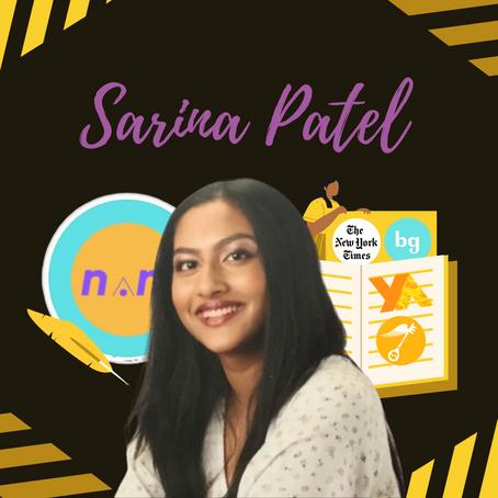 Sarina Patel: Novel Minority Founder, YoungArts Poet, & Creating Community