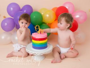 Cake Smash | Avery & Zayn