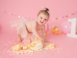 Cake Smash   Bonnie-Lee