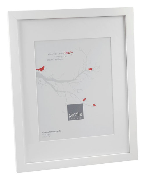 Narrow Matted Frame