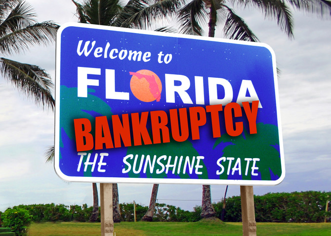 CAN I KEEP MY STUFF IF I FILE BANKRUPTCY IN FLORIDA?