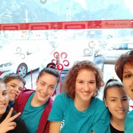 Mariaelena, Gabriele, Alice, Elisa, Nicole e Anna