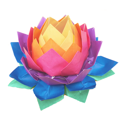 Petals of Peace lotus fower