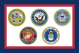 Seals of the US Armed Forces