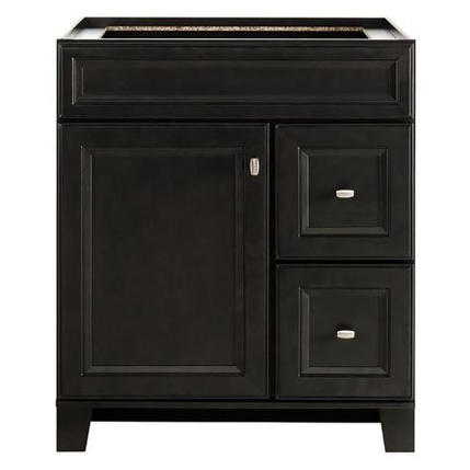 Model #9 Goslin 30-in Storm Bathroom Vanity Cabinet
