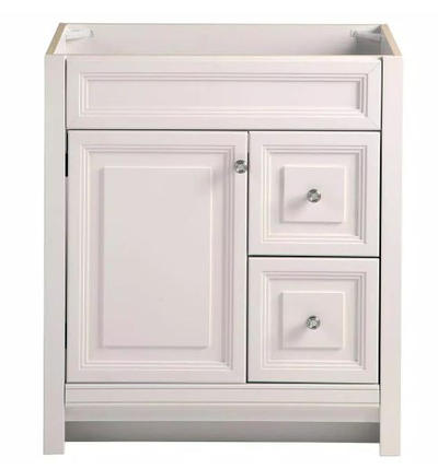 Model #22 Bathroom Vanity Cabinet Only in Cream