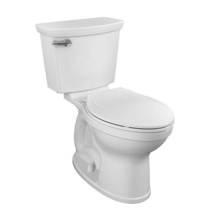 Model #7 Champion Tall Height 2-Piece High-Efficiency 1.28 GPF Single Flush Elongated Toilet in White Seat Included