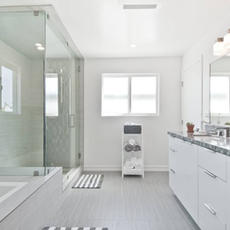 White Modern Weston FL