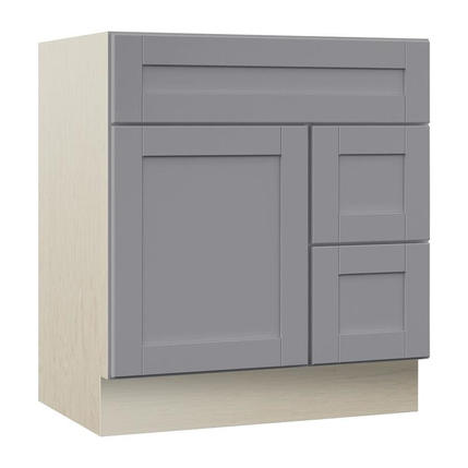 Model #18 Sanabelle 30-in Gray Bathroom Vanity Cabinet