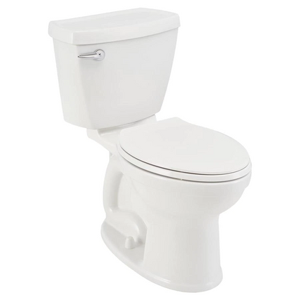 Model #1 American Standard Champion 4 White WaterSense Round Chair Height 2-Piece Toilet 12-in Rough-In Size (ADA Compliant)
