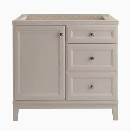 Model #31 Calhoun 36-in Cloud Gray Bathroom Vanity Cabinet