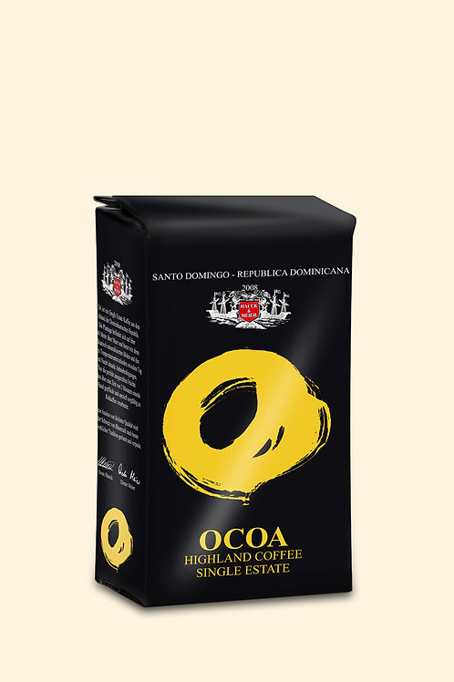 Gebinde «1 Paket à 250g, ganze Bohnen OCOA SINGLE ESTATE COFFEE»