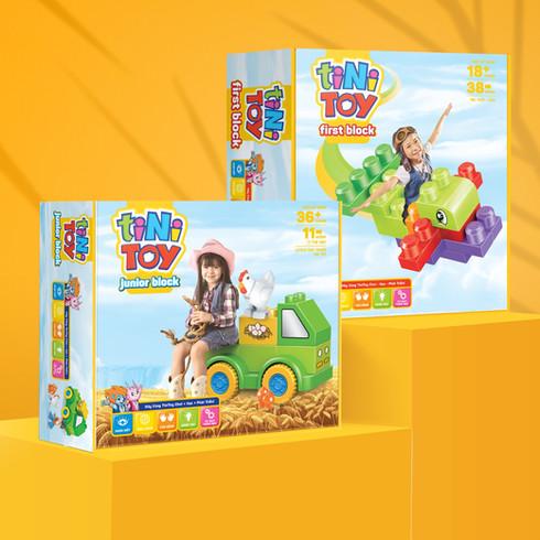 TiniToys Brick Toy Range