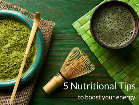 5 nutrition tips to boost your energy