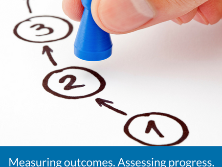 Measuring outcomes. Assessing progress.