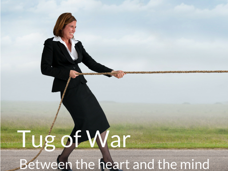 The tug-of-war between the heart and the mind