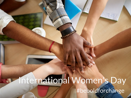 International Women's Day: Be Bold for Change!