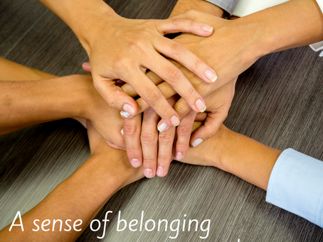 A sense of belonging—in business