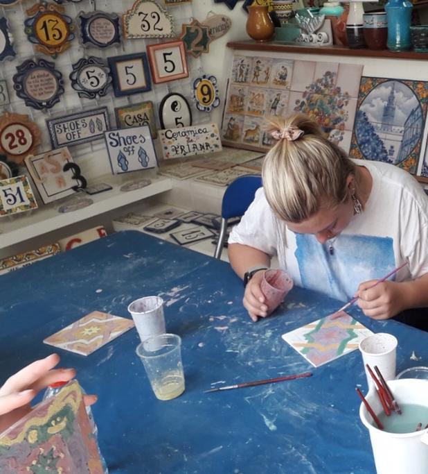 Atelier de céramique dans Triana
