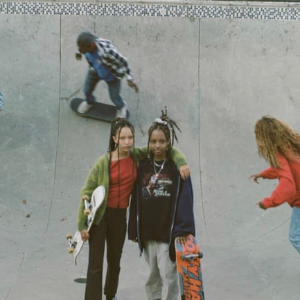 Capturing A Scenic Day In Atlanta: Dressing Up, Skating & Simply Enjoying Youth