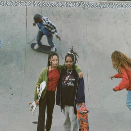 Capturing A Scenic Day In Atlanta: Dressing Up, Skating & Simply Enjoying Youth