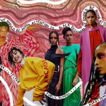 Black designers we should be paying attention to