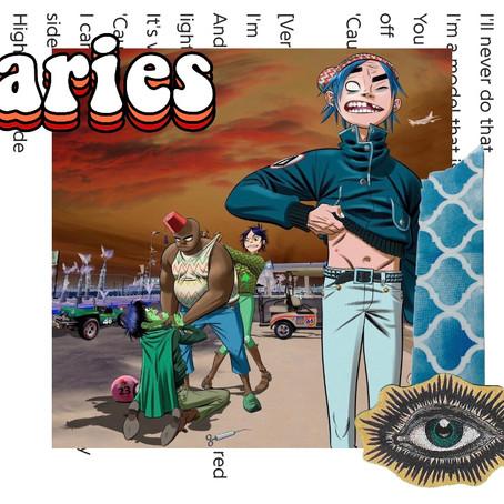 Why 'Aries' by Gorillaz is my Quarantine Jam