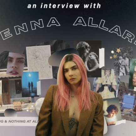 An Interview With Our September Muse Jenna Allard who Blends Ethereal Content With Activism