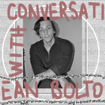 A Conversation With: Sean Bolton About The Music Industry, Music Post-Covid and Independent Artists