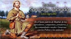 San Isidro, Schutzpatron Madrid, Fest 15.Mai
