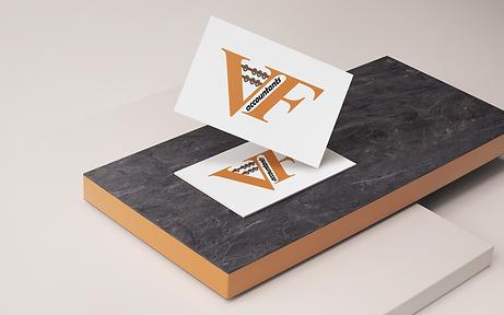 VF Accountants Business Card