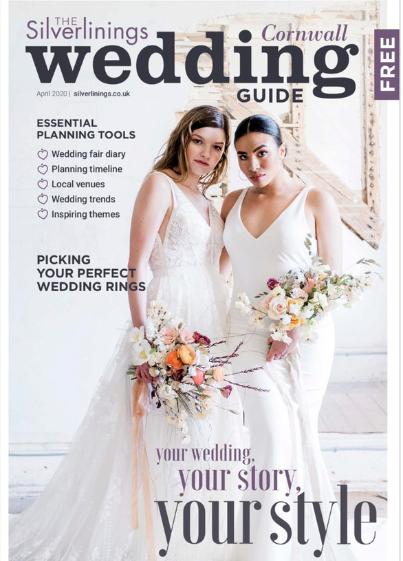 Silverlinings Cornwall Wedding Guide Photoshoot
