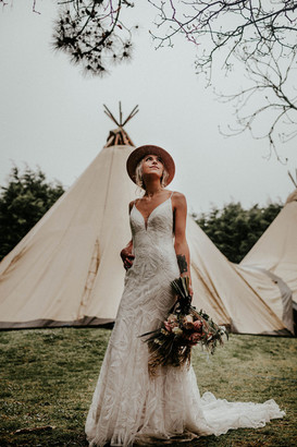 Outdoor weddings Cornwall