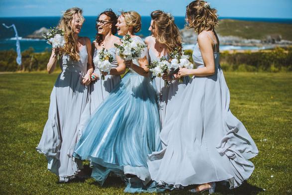 Wedding in Crantock Cornwall