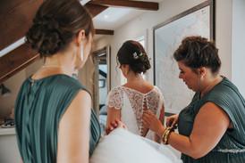 Wedding Morning Bridal Preparation