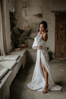 Bridal photoshoot for Unique stays