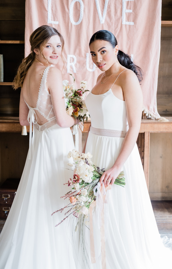 Silverlinings Cornwall Wedding Guide photo shoot