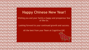 Happy Lunar New Year of the OX
