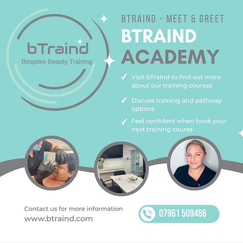 bTraind Beauty Training Academy in Hertfordshire