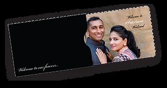 PLI Wedding Key Card with Envelope