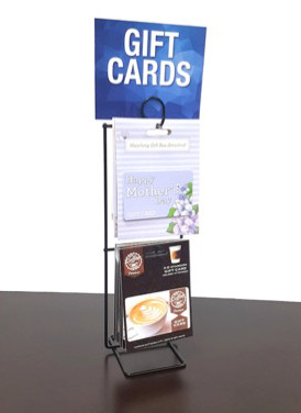 CLEARANCE - Black Wire POP Display with Header