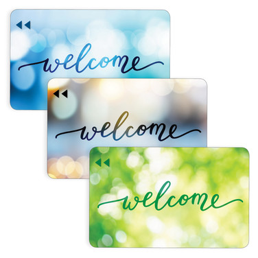 Welcome - Generic 3 Card Mix