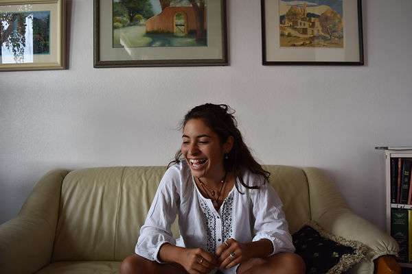 Sharin Laughter in Taos